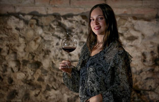 Federica Boffa, 23, at the helm of the historic winery in Alba, Pio Cesare.  Who turns 140