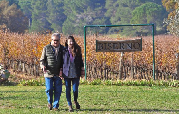 From father to daughter, in the name of the highest quality: from Lodovico to (and with) Sophia Antinori